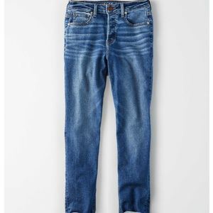 American Eagle Tomgirl Stretch High Waisted Jeans